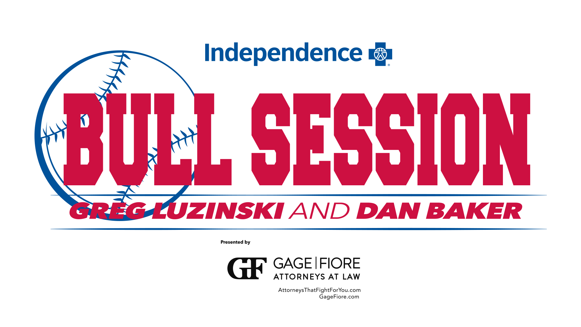 Bull Session Logo with Greg Luzinski and Dan Baker