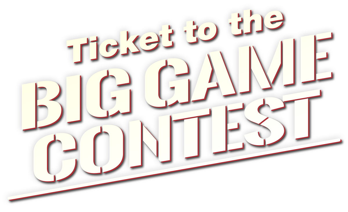 Big Game Ticket Giveaway Logo