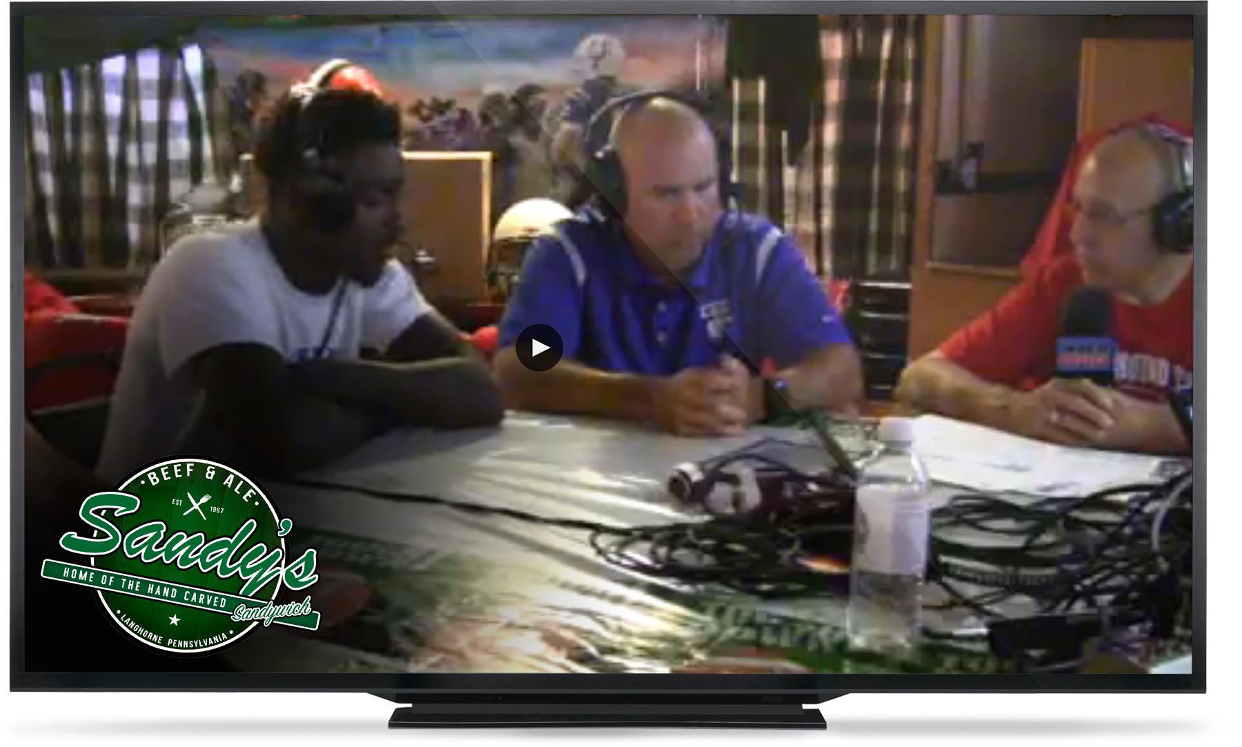 Live streaming of the Coaches Roundtable on WBCB 1490