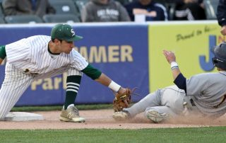 Steinert High School baseball players