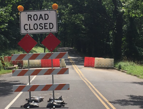 No Time Frame in Place for Sandy Run Road Re-Opening