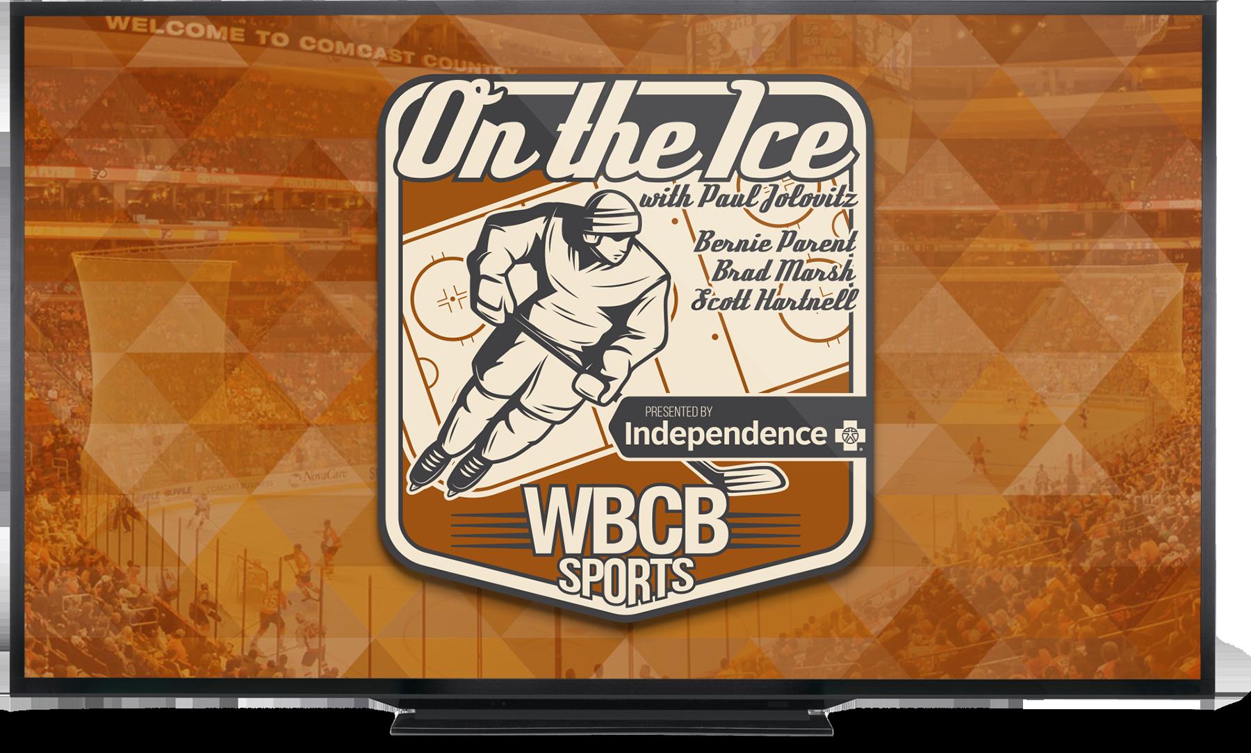 Watch On the Ice with Paul Jolovitz live on WBCB Sports